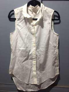 H&M polo sleeveless long back
