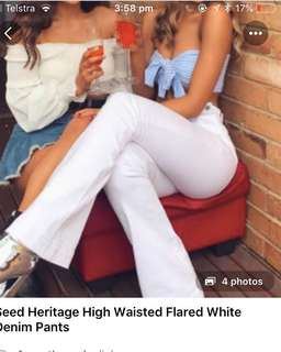 Seed Heritage Flare Jeans