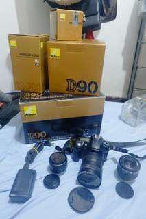 Nikon Fuji Camera Bundle
