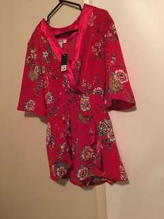 Red romper brand new! Size small!
