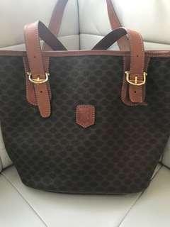 Authentic Celine Bucket Purse Handbag