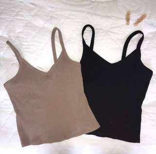 temt camisole knitted tops