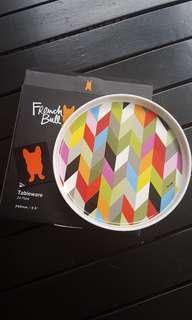 French Bull Ziggly Plate 24cm - 2 designs