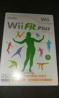 Wil Fit plus game.