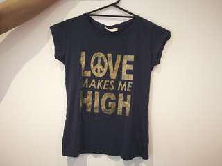 'Love Makes Me High' Tee
