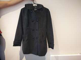 Grey Woolen Coat