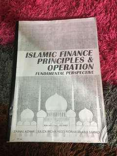 Islamic Finance Principles &