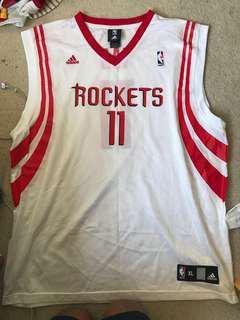 Yao Ming Adidas Rockets Jersey