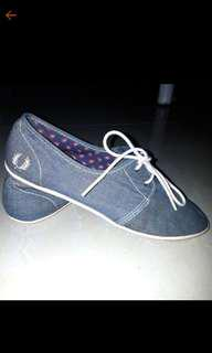 Fred Perry Denim Sneakers