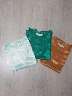 Rustan's Vintage Silk Top Bundle