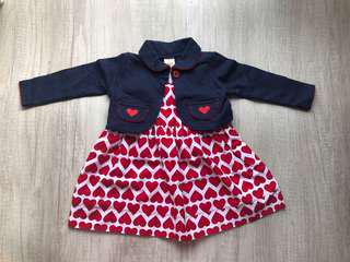 Heart alice dress