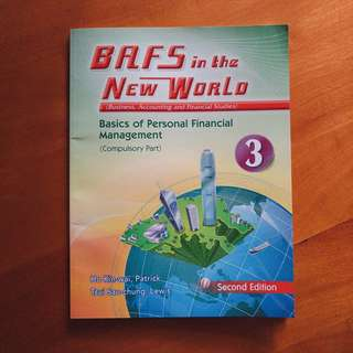 Bafs in the new world basics of personal financial management compulsory part textbook 教科書