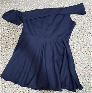 Off Shoulder Dress plus size