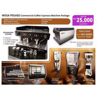 SPECIAL OFFER!!! Commercial coffee machine package