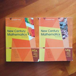 New century mathematics second edition m2 module 2 algebra and calculus textbook