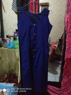 Dress oldiest blue
