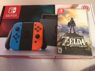 Nintendo Switch +Zelda薩爾達