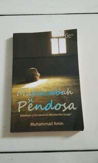 Buku muhasabah si pendosa