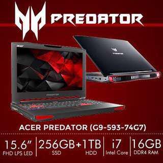 Acer Predator Laptop G9-593-74G7