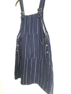 Monki Denim Pinafore