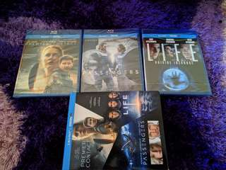 Blu Ray 3 Movie Combo For Sale