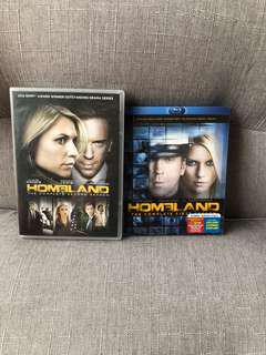 人氣美劇 Homeland DVD Blu-ray (Season 1 & 2)