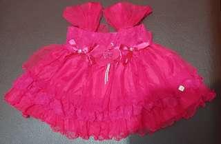 Gaun pink fanta