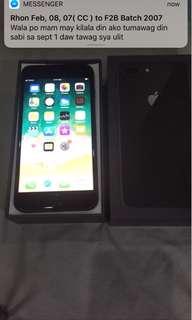 Original Iphone 8 plus 256Gb Spacegray Brandnew