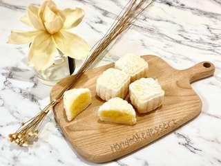 奶黃冰皮月餅