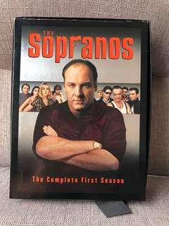 神級經典美劇 The Sopranos DVD  (Season 1) 4-Disc Collection