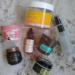 Botol Kosong Skincare Berbagai Brand