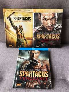Starz Original - SPARTACUS DVD Blu-ray (3 Seasons)