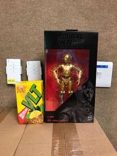 香港迪士尼樂園限定商品 STARWARS THE BLACK SERIIES C-3PO