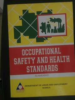 Occupational Safety and Health Standard as Amendedby DOLE