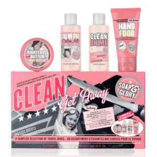Soap & Glory Gift Travel Set (PRICE REDUCED)