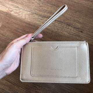 Charles & Keith Gold Pouch