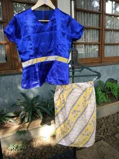 Blue-Yellow Dress
