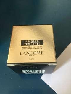 Lancôme eye cream