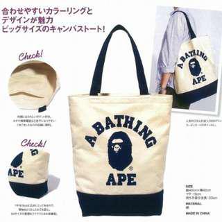 💥CHEAPEST - Bathing Ape BAPE Emook Tote Bag