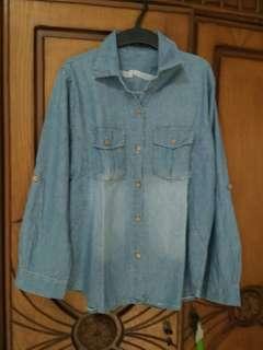 Denim Shirt / Kemeja Jeans