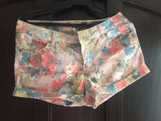 Vero Moda floral print shorts