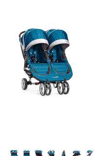 Baby Jogger 2016 City Mini Double Stroller - multi colors