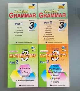 Primary English Grammar and Vocabury Practices