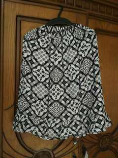 Batik Midi Skirt / Rok