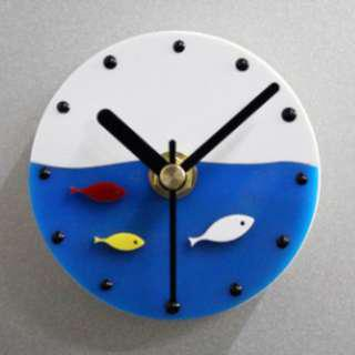 Fridge Clock - Fishes