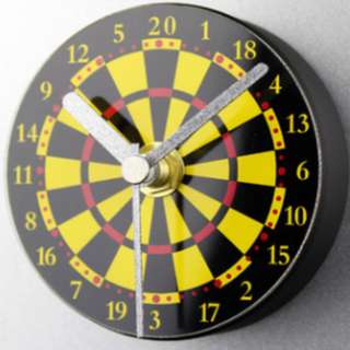 Fridge Clock - Dart board