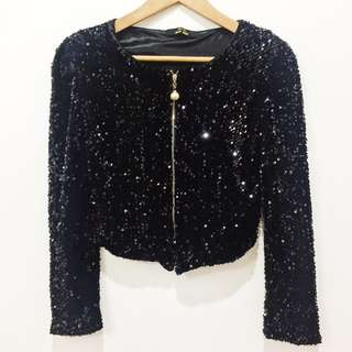 Full Sequin with lining from blazer