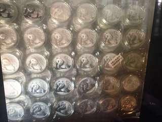 中國態猫銀幣永遠保證真貨(蝕本)減價了