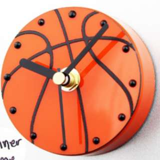 Fridge Clock - Basketball