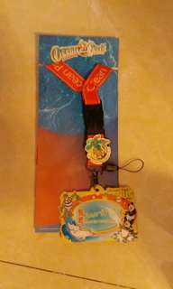 海洋公園  証件套  頸繩  襟章
